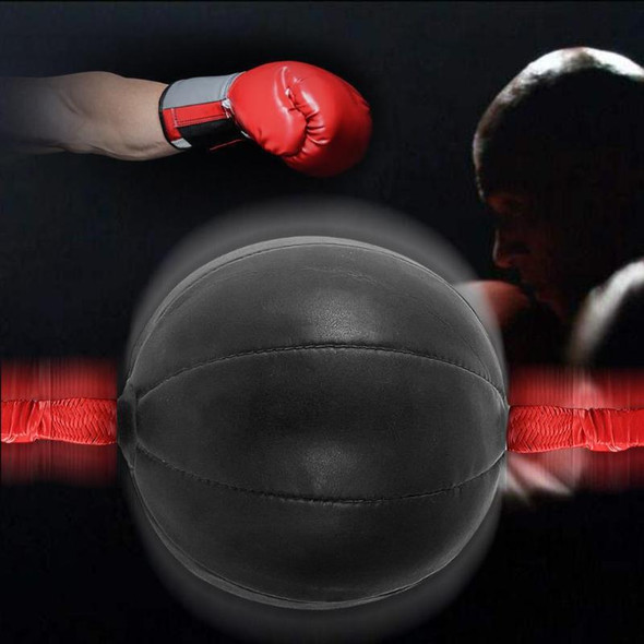 Double End Boxing Speed Ball Punch Bag PU Leather Gym Punching Bag Training Fitness Sports Practical Speed Equipment