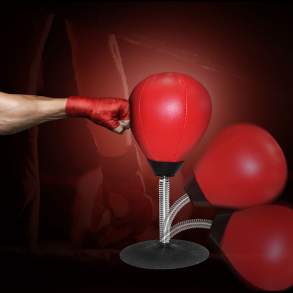 Desktop Boxing Punching Bag Speed Ball Bags PU Punch Training Fitness Gym Sports Practical Stress Release
