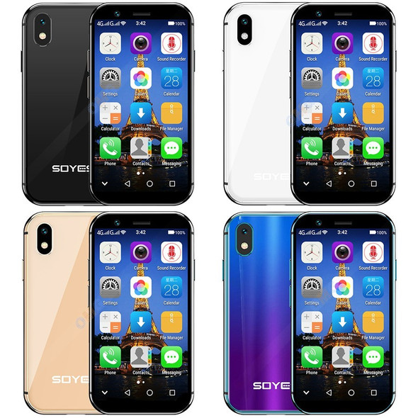 """SOYES XS 3.0"""" smallest small Smartphone unlocked super mini phone android 6.0 4G Mobile phones MTK6737 Quad Core smart phone"""
