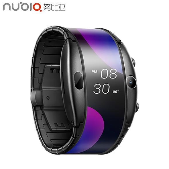 Nubia Alpha Watch Phone 4.01 inch Foldable Flexible 1GB+8GB Snapdragon 8909W Display Sports Real-time Bluetooth Smartphone