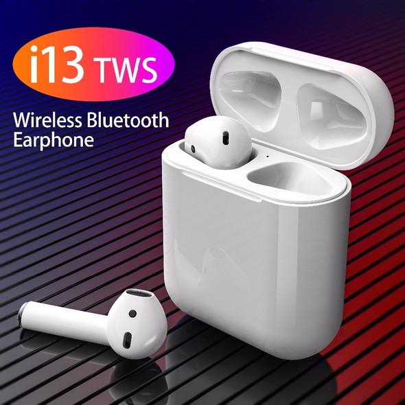 i13 TWS Wireless Bluetooth 5.0 Earphone Headphones For Iphone Samsung Xiaomi Headset PK i10 i11 i12 i7s Tws For All Smart Phone