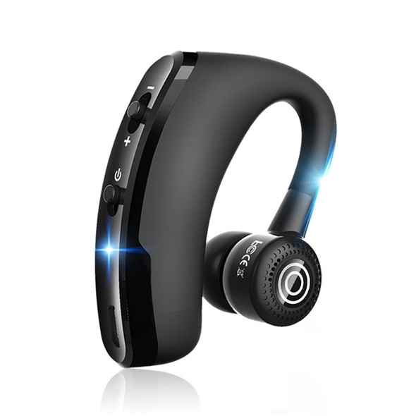 New V9 Handsfree Wireless Bluetooth Earphones Noise Control Business Wireless Bluetooth Headset with Mic for Driver Sport