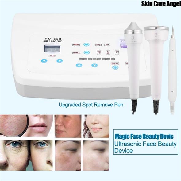Anti Aging Ultrasonic Skin Rejuvenation Wrinkle Spot Removal Beauty Machine