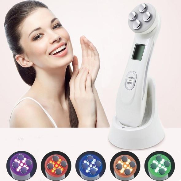Electroporation RF Radio Frequency Facial LED Photon Skin Care Device Face Lifting Tighten Eye Facial Care