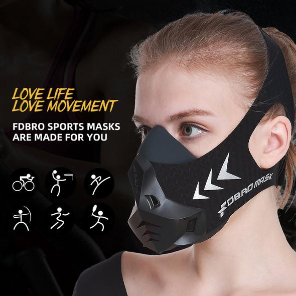1 Fitness training sports mask Pro Exercise Workout Running Resistance Cardio Endurance sport High Altitude Athletics Mask