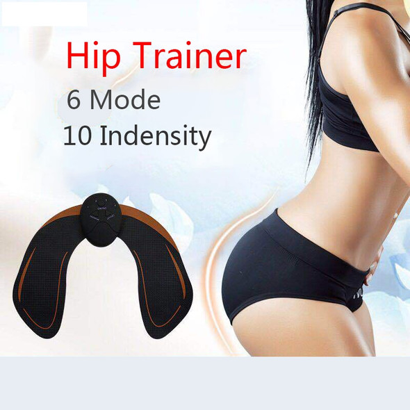 1 Smart EMS Hips Trainer + Electric Muscle Stimulator, Wireless Buttocks, Abdominal ABS Stimulator, Fitness Body Slimming Massager