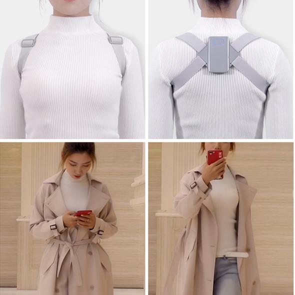 Adjustable Smart Technology Back Posture Corrector, Adult Back Brace Support, + Training Belt