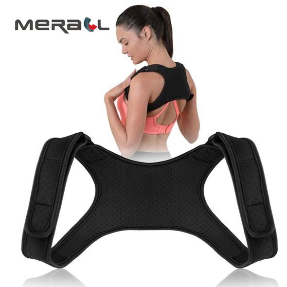 Posture Corrector + Brace Support Men/Women Back Straightener /Corset Adhesive Adjustable Brace