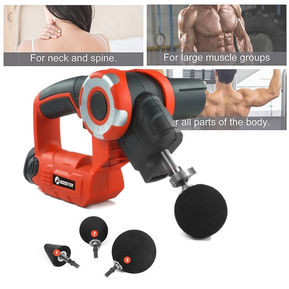 High Frequency Massage Gun + Muscle Stimulator, Vibrating Deep Muscle Relaxation + Percussive Therapy Massager For Pain Relief