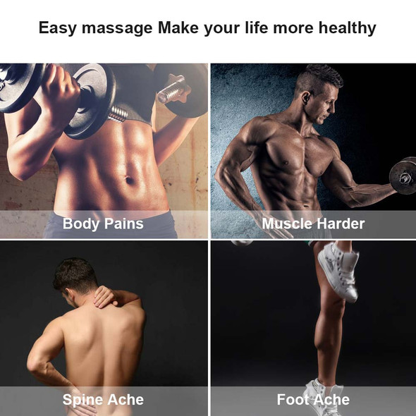 Muscle Massage Gun Deep Tissue Massager High-intensity Training Exercising Body Relaxation Slimming Shaping Pain Relief
