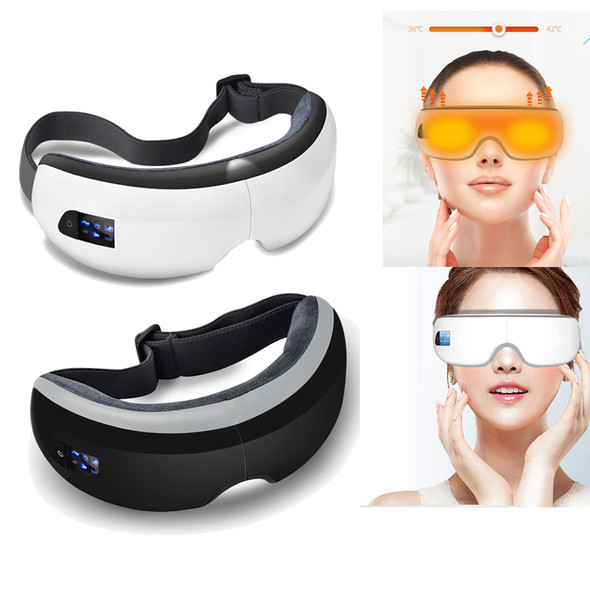 Smart Bluetooth Music Eye Massager Air Pressure Hot Compress Dark Circles Remove Magnetic Far-infrared Protect Eyesight Eye Care