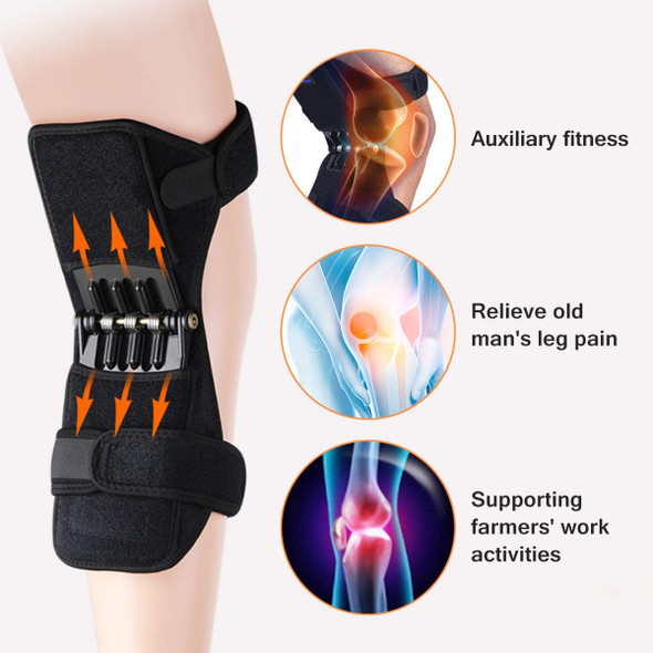 Knee Protection Booster+ Power Support Knee Pads With Powerful Rebound Spring Force To Reduce Soreness