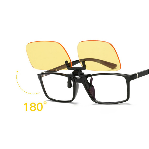 Anti Blue Ray Anti-fatigue Glasses Blue Light Blocking Clip On Glasses 2 Colors For Computer Protection Gaming Glasses