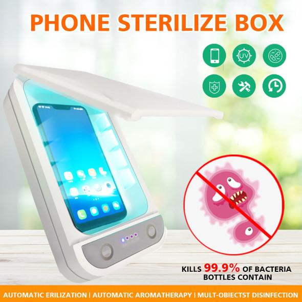 Double UV Phone Sterilizer Box & Personal Sanitizer