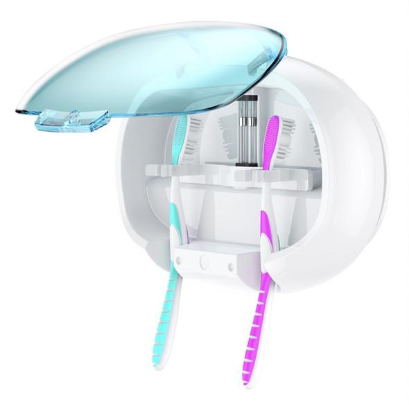 UV Toothbrush Sanitizer Wall Mounted