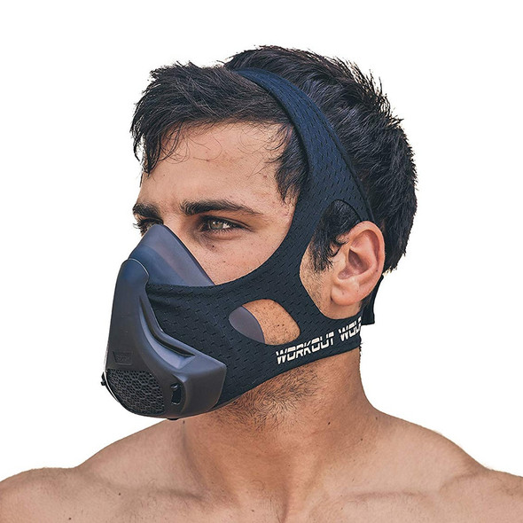 24 Breathing Resistance Levels Endurance Fitness Mask High Altitude Simulation
