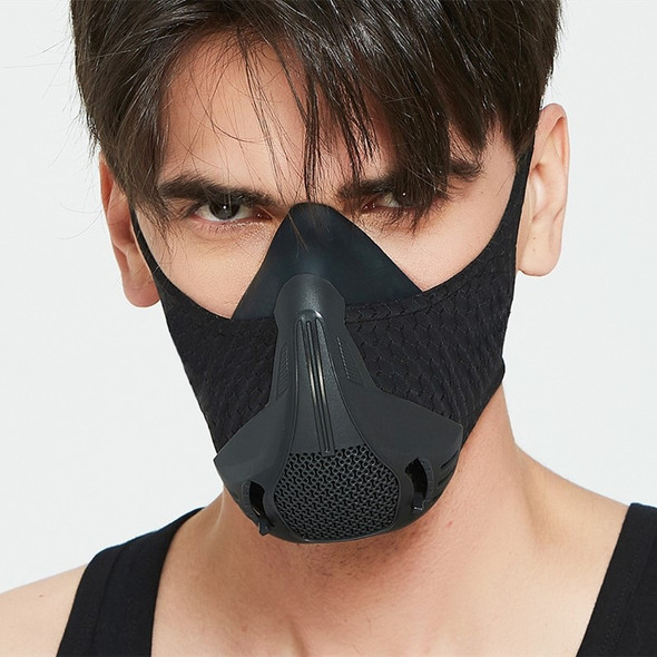 training sport mask 4.0 style black High Altitude training Conditioning 25 resistance levels adjusted