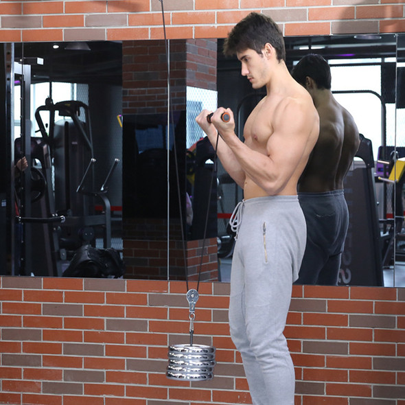 Tricep LAT Pulley System Foream Strength