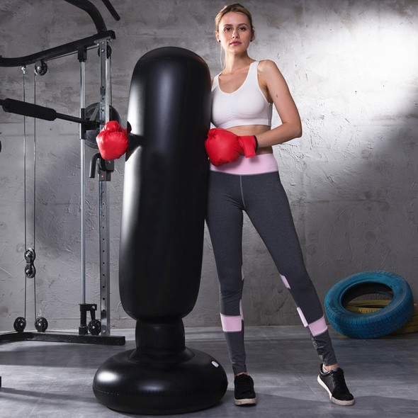 Inflatable Boxing Cylinder Punching