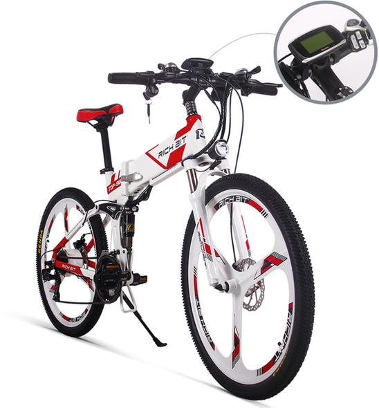 New aluminum folding bike