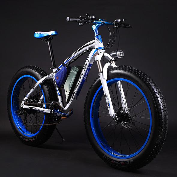 New Super Ebike Powerful Electric Snow Bike 21 Speed Ebike 48V 1000W Electric Fat Tire Bike With 17AH Lithium Battery
