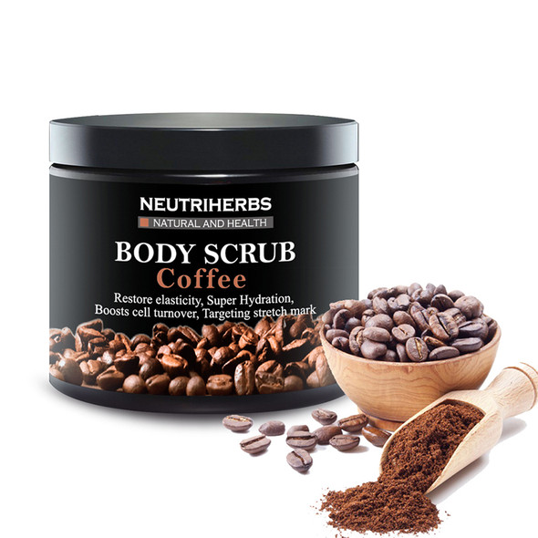2pcs Neutriherbs Coffee Body Scrub For Exfoliating Face Moisturizing Whitening Reducing Cellulite With Coconut Oil 200g/pc