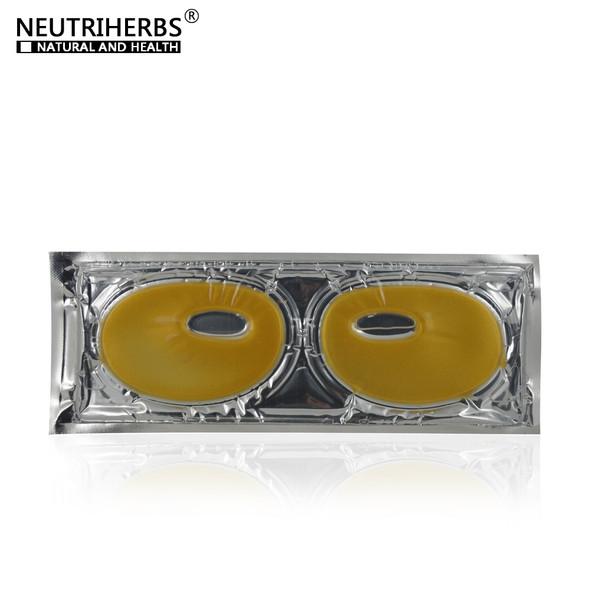 NEUTRIHERBS Gold Eye Cover Masks Dark Circles Collagen Patches on the Eyes Anti wrinkles 4boxes=20pcs