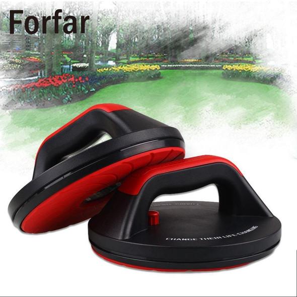 Forfar 2pcs push ups household antiskid rotatable bracket for sports fitness equipment training chest push ups