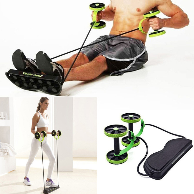 Fitness abdominal strength trainer abs workout resistance home gym