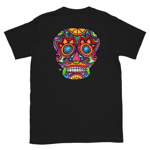 Sangria Black Short-Sleeve Unisex T-Shirt