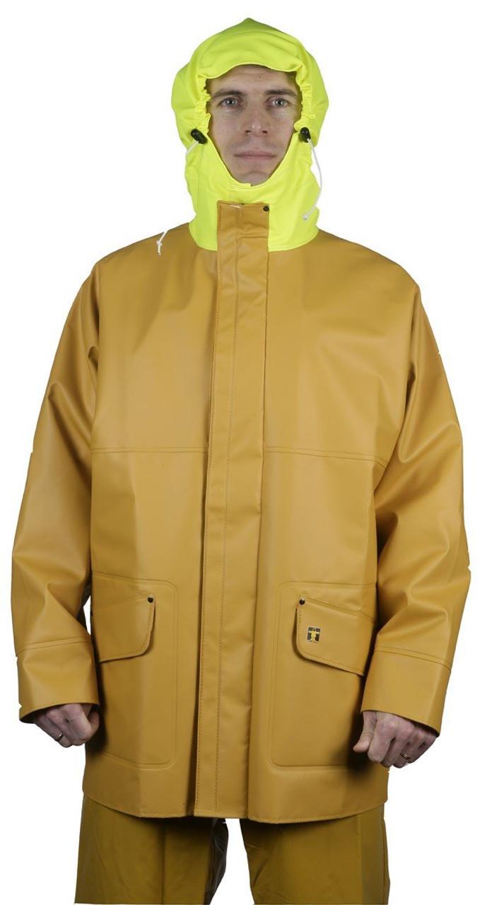oilskins Guy Cotten YELLOW Rosbras jacket waterproofs wet weather fishing