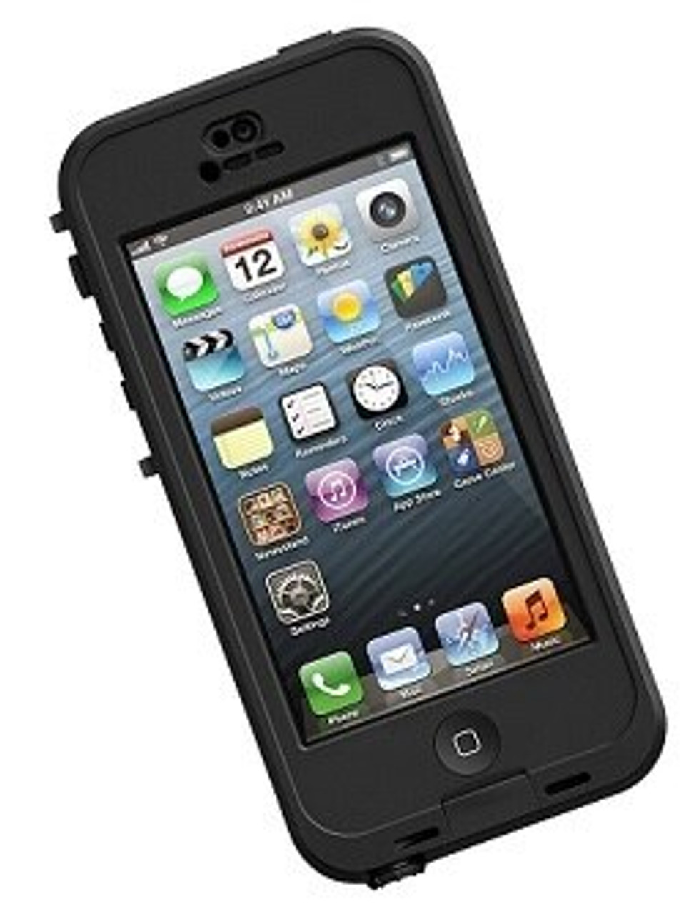 innovative design 5f89a 8036f Lifeproof Nuud iPhone 5C Case Black/Clear