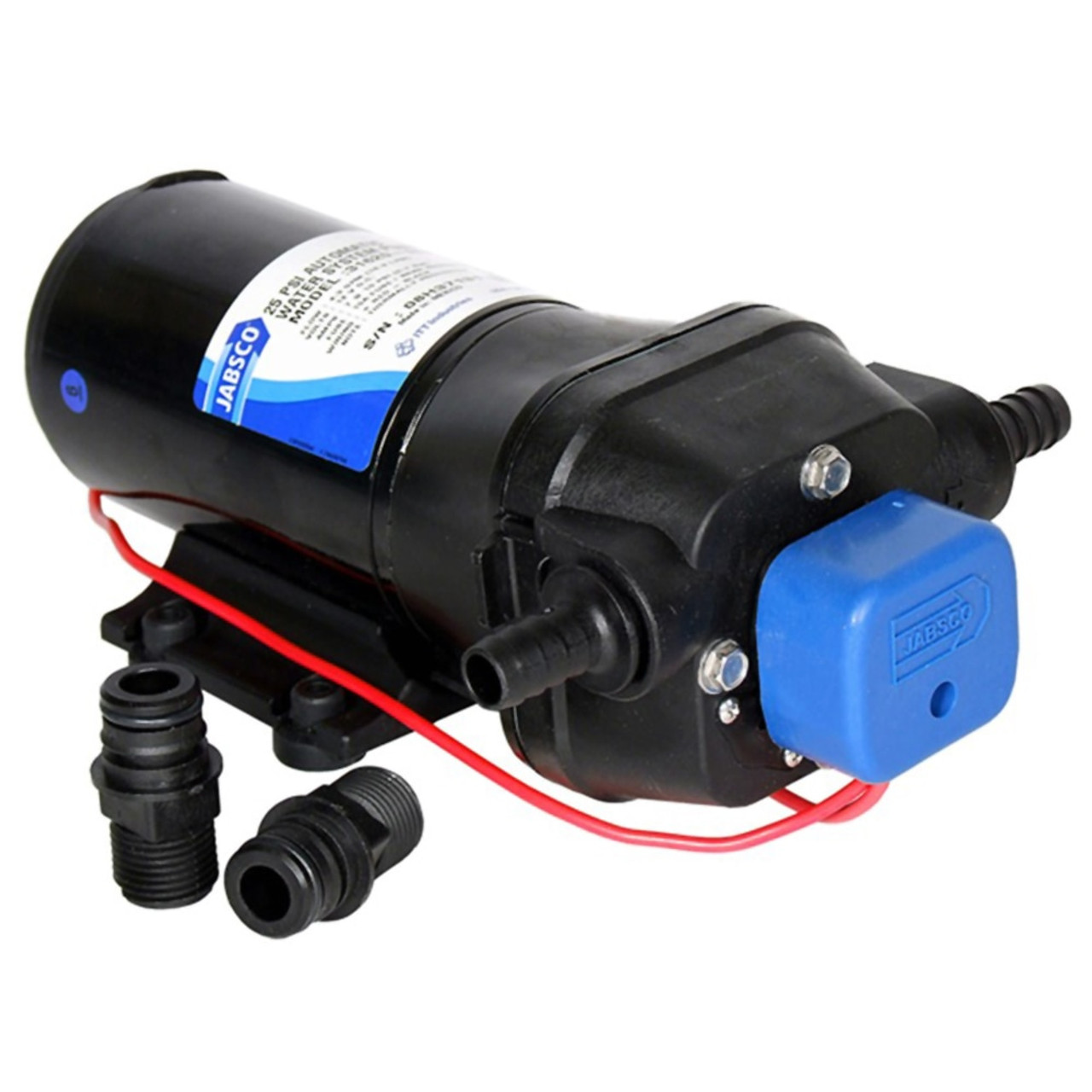 Jabsco Par Max 4 High Pressure-Controlled Pump - 12V
