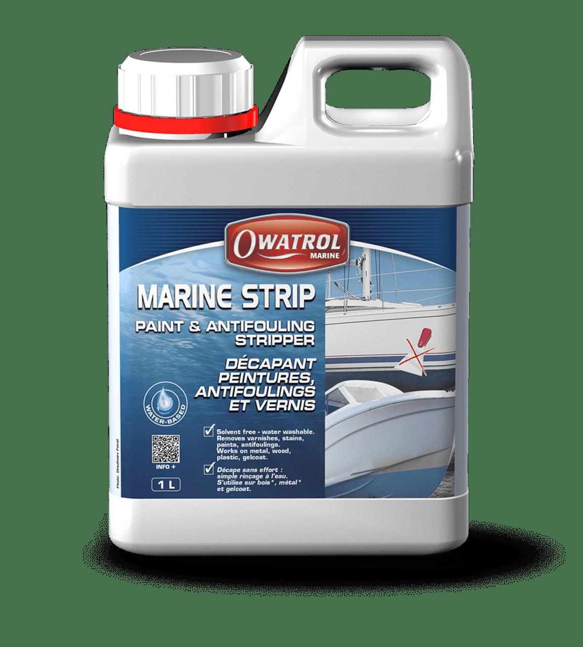 Owatrol Marine Strip Paint & Antifouling Stripper 1L