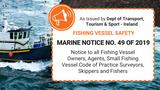 Marine Notice No. 49 of 2019