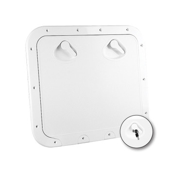 Nuova Rade Deck Access Hatch With Bag Boat Yacht Rib Removable Bag 162mm Dia