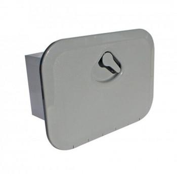 Nuova Rade Topline Storage Hatch Box 270x375mm Grey
