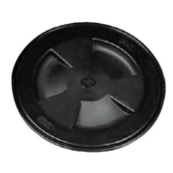 Nuova Rade Round Inspection Hatch 155mm Black