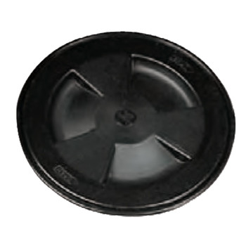 Nuova Rade Round Inspection Hatch 155mm Black