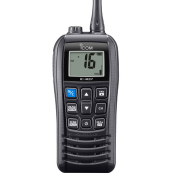 Icom M37E Buoyant Handheld VHF Radio with 6W Output