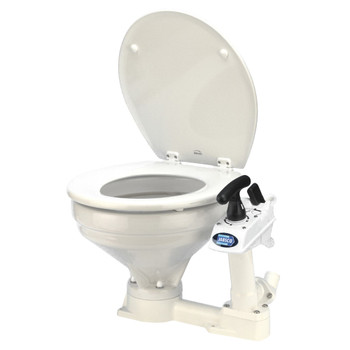 Jabsco Twist and Lock Manual Toilet - Regular Bowl