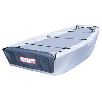 Optiparts Optimist Fully Padded Bottom Cover - Quilted - Back View