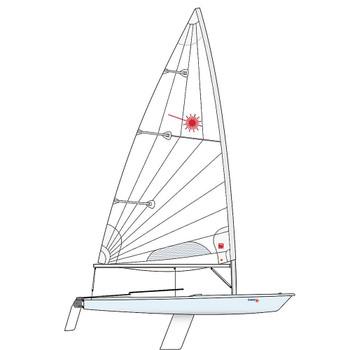 Laser Standard Dinghy incl. Race Rig