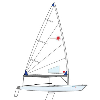 Laser Radial Dinghy incl. Race Rig