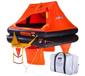 Seago Sea Master Valise 8 Man Liferaft > 24hrs ISO9650-1