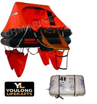 Youlong  ISO-9650-1  Liferaft  -  10 Man Container >24hr