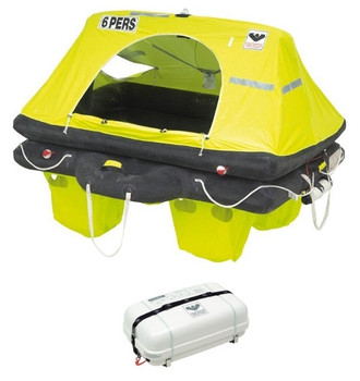 Viking RescYou Container Liferaft 6 Person