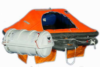 Viking SOLAS Throw Overboard DK+ Liferaft 25 Person Pack B