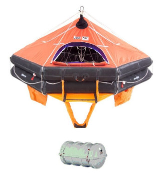 Viking SOLAS Davit Launched DKF+ Liferaft 12 Person Pack A