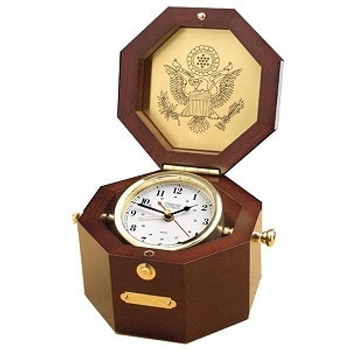 Weems & Plath Octagonal Alarm Clock